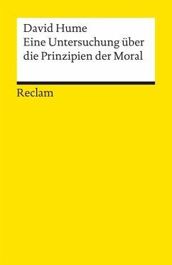 Eine Untersuchung über die Prinzipien der Moral - Hume, David