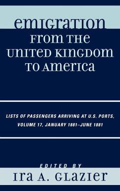 Emigration from the United Kingdom to America V17 - Glazier