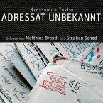 Adressat Unbekannt, 1 Audio-CD