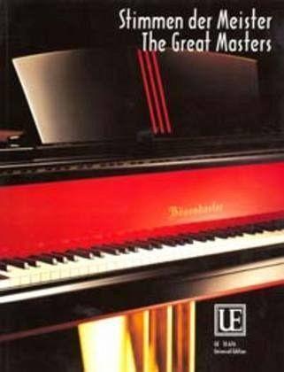 stimmen der meister f r klavier noten portofrei bei b kaufen. Black Bedroom Furniture Sets. Home Design Ideas