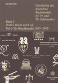 Geschichte des deutschen Buchhandels im 19. und 20. Jahrhundert. Band 3. Teilband 3. Buchhandel im deutschsprachigen Exil 1933-1945