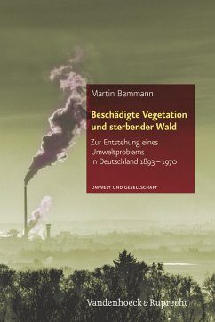 Beschädigte Vegetation und sterbender Wald - Bemmann, Martin