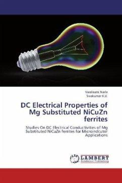 DC Electrical Properties of Mg Substituted NiCuZn ferrites - Narla, Varalaxmi; K.V., Sivakumar