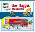 Lkw, Bagger, Traktoren / Was ist was junior Bd.24 (Audio-CD)