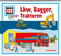 Lkw, Bagger, Traktoren / Was ist was junior Bd.24 (Audio-CD)