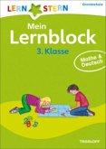 Lernstern: Mein Lernblock 3. Klasse. Mathe & Deutsch