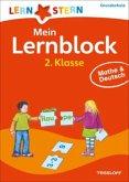 Lernstern: Mein Lernblock 2. Klasse. Mathe & Deutsch
