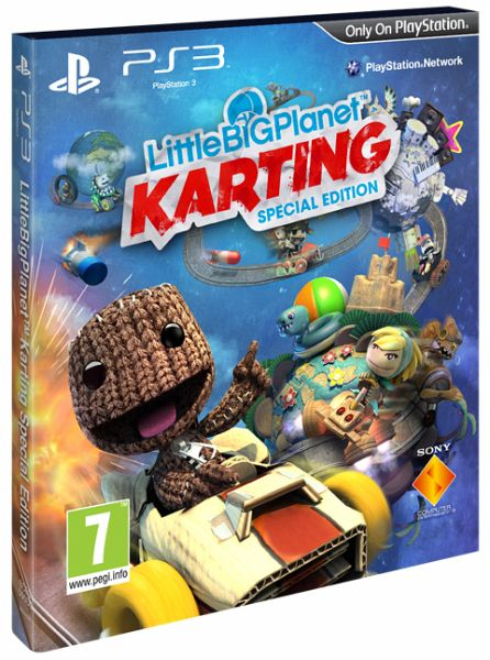 Little Big Planet Karting Special Edition Playstation 3 Games