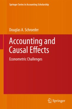 Accounting and Causal Effects - Schroeder, Douglas A.