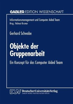 Objekte der Gruppenarbeit - Schwabe, Gerhard