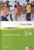 Green Line 3 und 4. 99 grammatische Übungen mit Lösungen