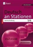 Deutsch an Stationen spezial Rechtschreibung 5-6