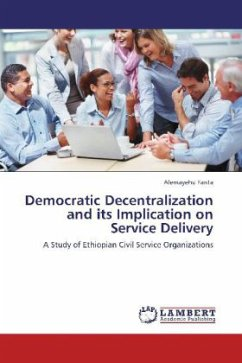 Democratic Decentralization and its Implication on Service Delivery