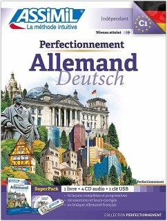 Lehrbuch, 4 Audio-CDs + 1 USB-Stick / Deutsch in der Praxis für Franzosen - Perfectionnement Allemand