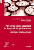 Performance Management in Nonprofit-Organisationen