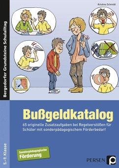 Bußgeldkatalog Sonderpädagogische Förderung