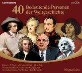 40 bedeutende Personen der Weltgeschichte (MP3-Download)