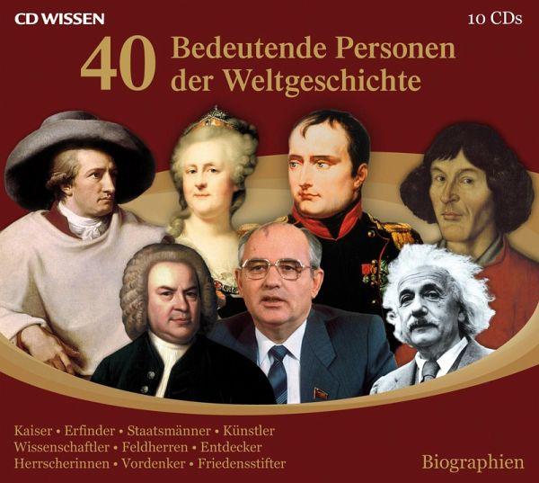 40 bedeutende Personen der Weltgeschichte (MP3-Download ...