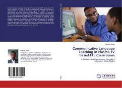 Communicative Language Teaching in Plasma TV based EFL Classrooms