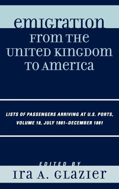 Emigration from the United Kingdom to America V18 - Glazier