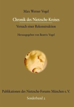 Chronik des Nietzsche-Kreises (eBook, PDF)