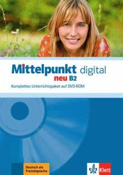 Mittelpunkt neu B2 digital, DVD-ROM / Mittelpunkt neu Bd.B2