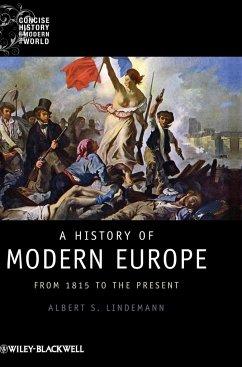 A History of Modern Europe - Lindemann, Albert S.