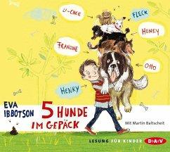 5 Hunde im Gepäck (MP3-Download) - Ibbotson, Eva