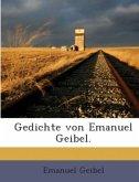 Gedichte von Emanuel Geibel.