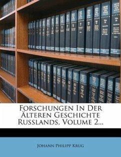 Forschungen in der Älteren Geschichte Russlands, zweiter Theil