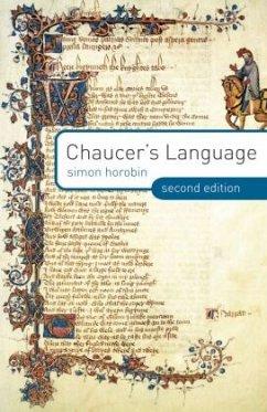 Chaucer's Language - Horobin, Simon