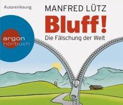 Bluff!, 5 Audio-CDs - Lütz, Manfred