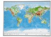 Welt, Reliefkarte, Groß