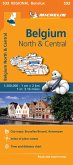 Belgium North & Central - Michelin Regional Map 533