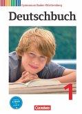 Deutschbuch 1: 5. Schuljahr. Schülerbuch Gymnasium Baden-Württemberg
