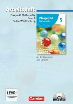 Pluspunkt Mathematik - Baden-Württemberg - Neubearbeitung - Band 5 / Pluspunkt Mathematik, Ausgabe Hauptschule Baden-Württemberg, Neubearbeitung Bd.5