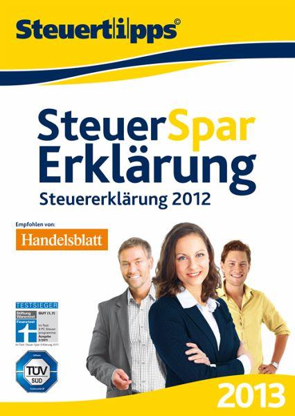 Steuer-Spar-Erklärung 2013 (PC)
