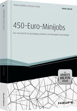 450 euro minijobs fachbuch. Black Bedroom Furniture Sets. Home Design Ideas
