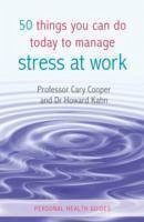 how to manage stress at work book