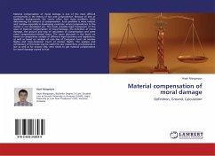 Material compensation of moral damage