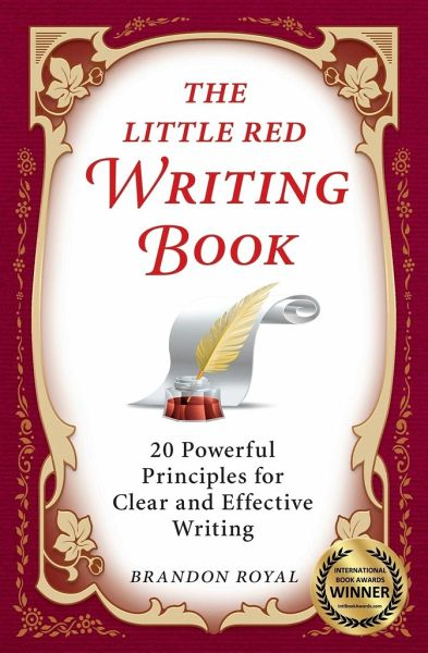 the little red writing book brandon royal pdf