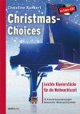Christmas-Choices, für Klavier, m. Audio-CD