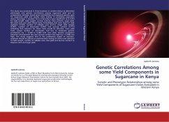 Genetic Correlations Among some Yield Components in Sugarcane in Kenya