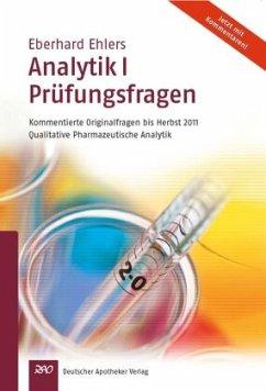 Ehlers, Analytik I Prüfungsfragen - Ehlers, Eberhard