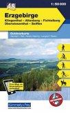 Kümmerly & Frey Outdoorkarte Erzgebirge