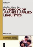 Handbook of Japanese Applied Linguistics