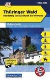 Kümmerly+Frey Outdoorkarte Thüringer Wald