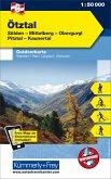 Kümmerly+Frey Outdoorkarte Österreich - Ötztal