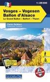 Kümmerly & Frey Outdoorkarte Elsass, Vogesen - Vosges/Vogesen, Ballon d' Alsace