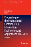 Proceedings of the International Conference on Information Engineering and Applications (IEA) 2012
